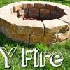 Návod na záhradné ohnisko z kameňa