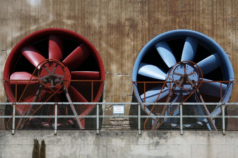 STOP ťažkému avlhkému vzduchu! Zachránia vás priemyselné ventilátory